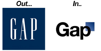 GAP Logo Change