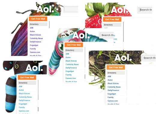 AOL. New Logos