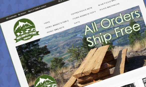 Northwest Picnic Company - Protocol Three Web Design
