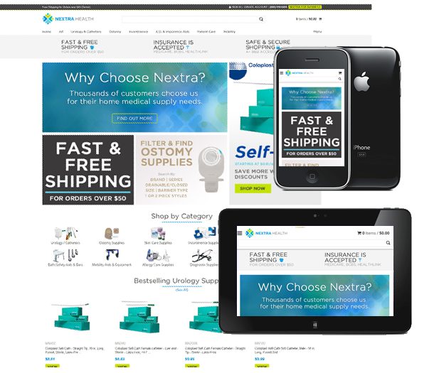 P3 Portfolio - STL Medical Supply - Portland Ecommerce Design & Marketing