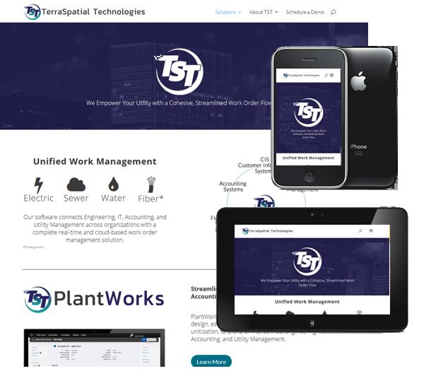 P3 Portfolio - Terraspatial Technologies TST - Portland Web Design & Management